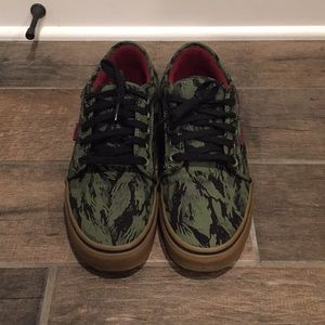 Vans Men's Jungle Camo Sneakers